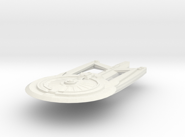 Hampton Class MedCruiser or AsstCruiser in White Natural Versatile Plastic