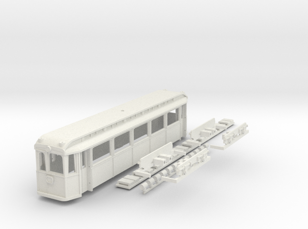 Chassis Hofsalonwagen WLB in White Natural Versatile Plastic