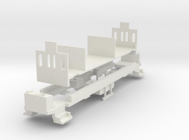 Fahrgestell Hofsalonwagen WLB in White Natural Versatile Plastic