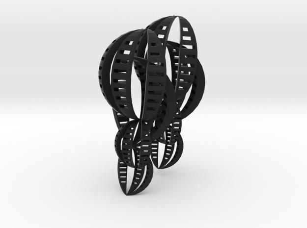 Shell Earrings 3d printed