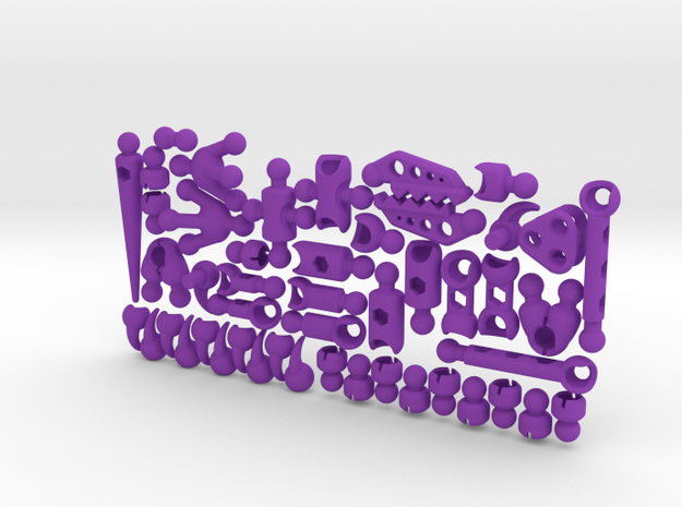 ModiRaptor Dino Kit 3d printed