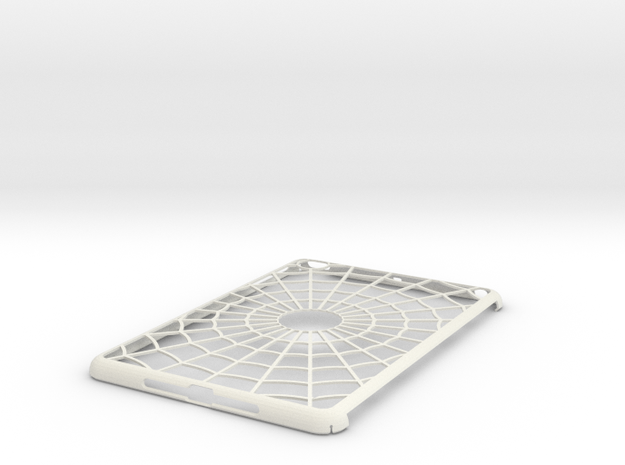 iPad Mini Spider Web Case in White Natural Versatile Plastic