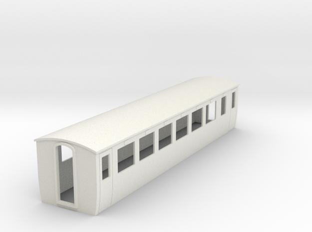 OO9 Modern 2nd class coach 3d printed