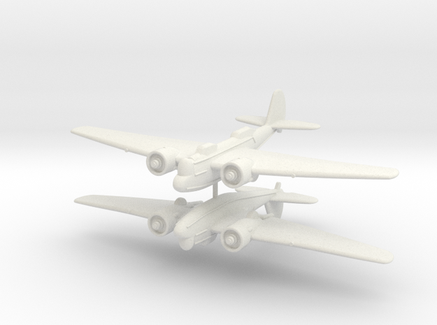 1/200 Martin B-10 (x2) in White Strong & Flexible