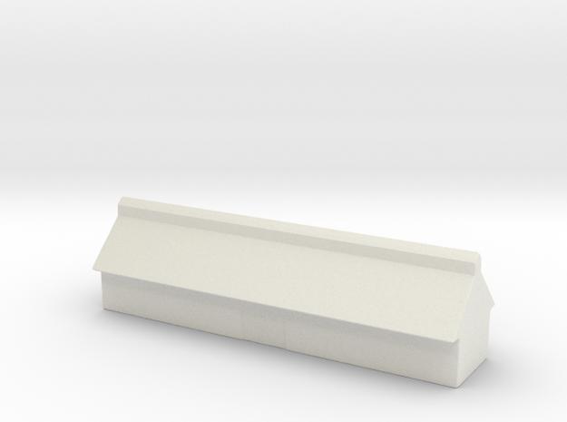 1/700 Missile Construction Building in White Natural Versatile Plastic