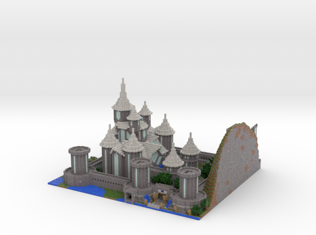 Castle Lividus of Aeritus 2 3d printed