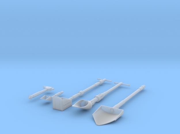 Moon Tools 1:6 Scale 3d printed