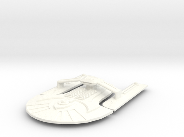 USS Pendulum in White Strong & Flexible Polished