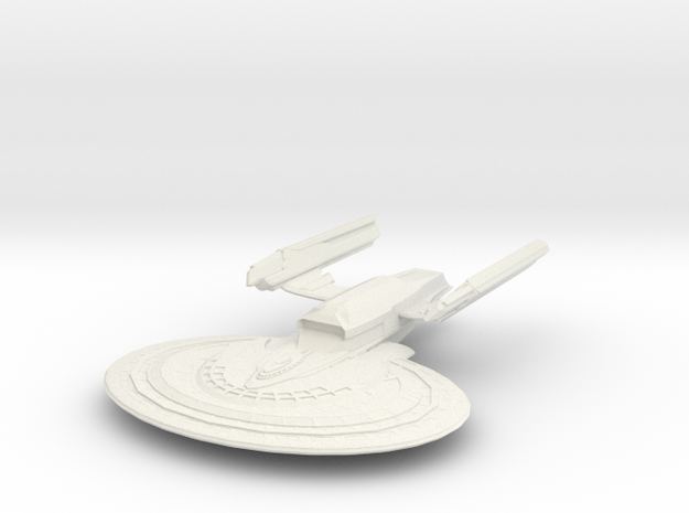 Cheyenne Class Cruiser in White Strong & Flexible