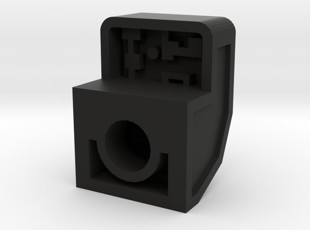Robo Backpack: Mini Hood w/4.9mm back peg port 3d printed