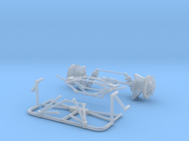 1974-76 McLaren susnpension axle hubs in Smooth Fine Detail Plastic