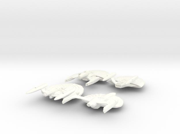 The USS Cameron, Bellatrix, Lawson and Entrada Sta in White Processed Versatile Plastic