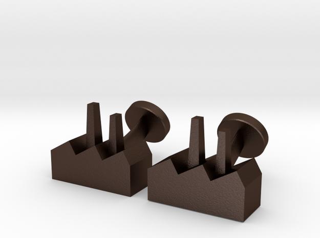 Cufflinks Factory 3d printed