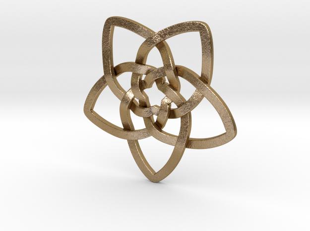 Venus flower pendant 3d printed