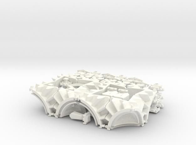 Maltese Gears 3d printed