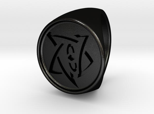 Elder Sign Signet Ring Size 8.5