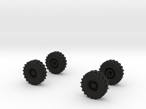 Manitou Räder  in Black Strong & Flexible