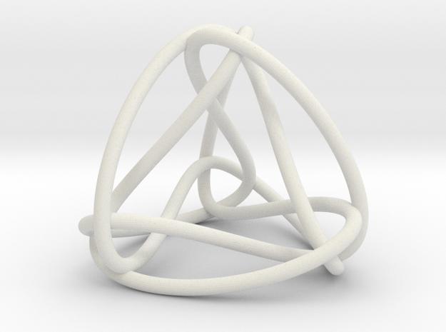 Tri-Twistor TR01 in White Natural Versatile Plastic