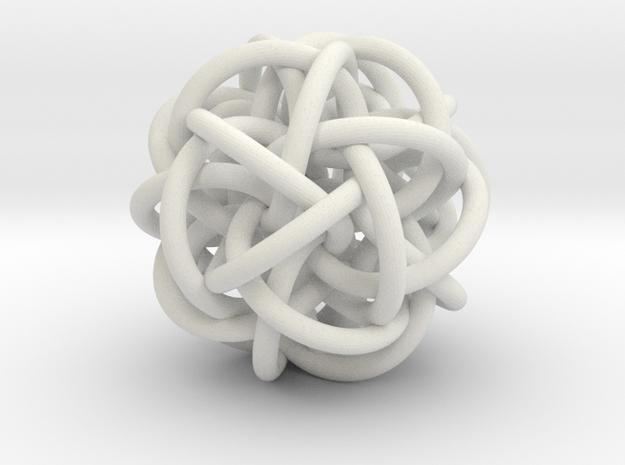 Hexa-Twistor HX+01 in White Natural Versatile Plastic