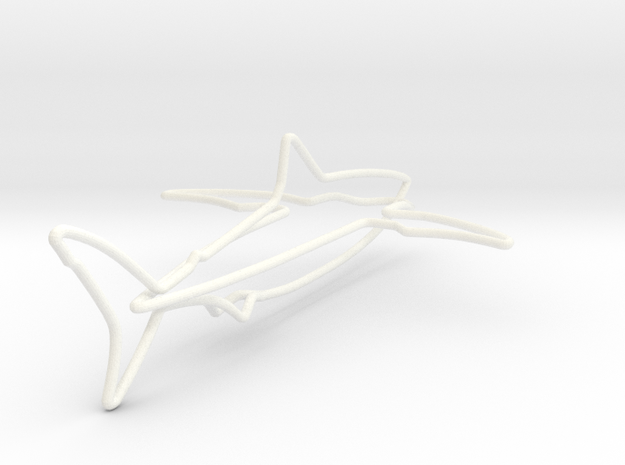 Wire Shark 3d printed