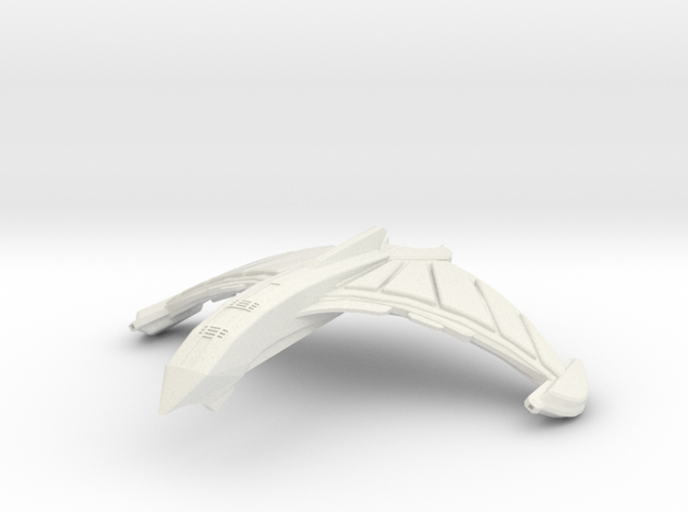 Blood Hawk Largest in White Natural Versatile Plastic