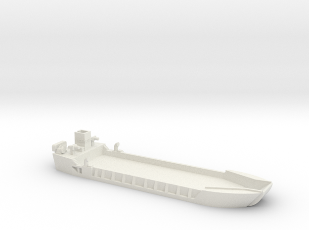 1/600 LCT-5 in White Natural Versatile Plastic