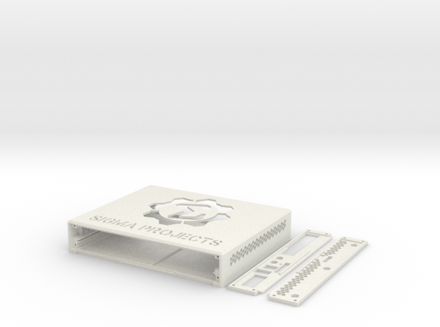 Router Station Pro Case 3_1_1 in White Natural Versatile Plastic