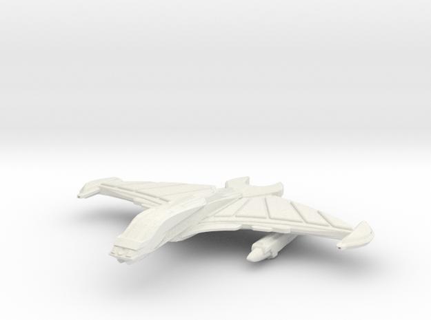 BloodHawk Class Cruiser in White Natural Versatile Plastic