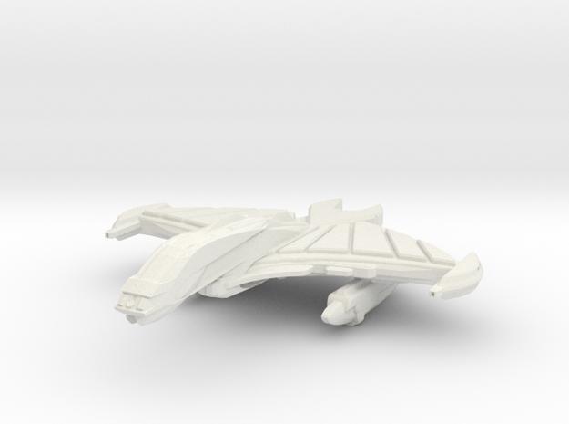 BloodBird Class Destroyer in White Natural Versatile Plastic