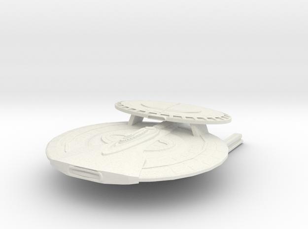 Austin Class HvyCruiser in White Natural Versatile Plastic