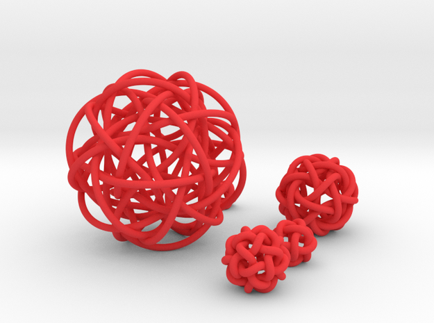 Five Simplest Poly-Twistors 3d printed