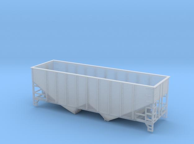 TT Scale 2 Bay Hopper 8 Panel in Smooth Fine Detail Plastic
