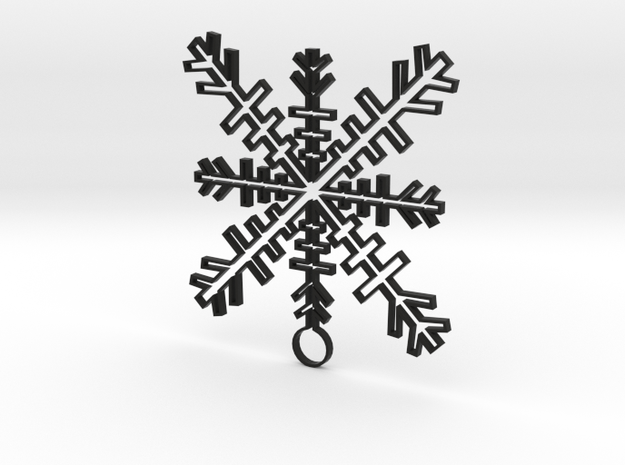 Ice Crystal 3d printed