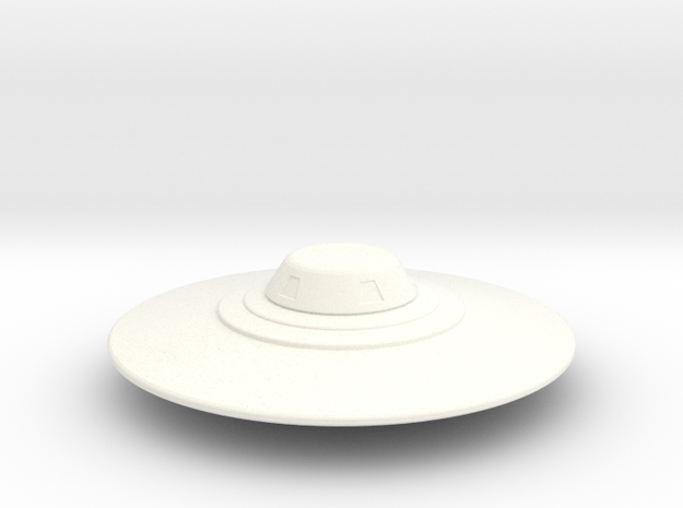 Flying Saucer Miniature 2 3d printed