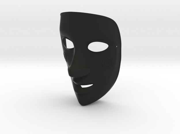 EmptyHeaded Mask (Female) 3d printed