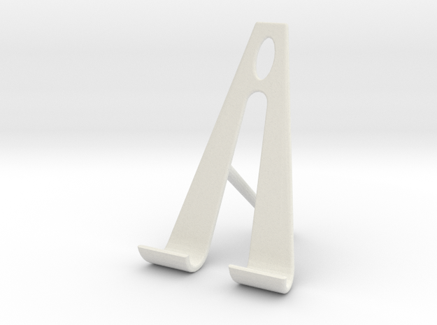 Nexus 7 tablet stand 2 3d printed