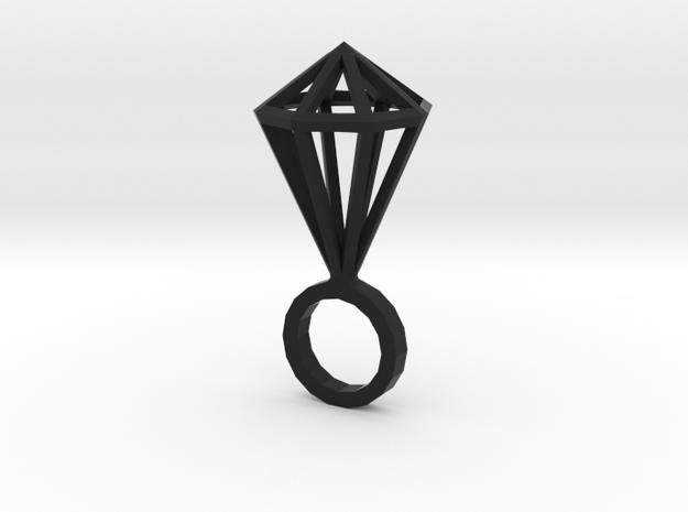 "Hexa Diamond size M (6 1/4"") 3d printed"