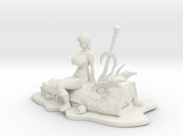 Dragon Girl 3d printed