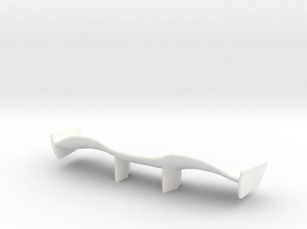 V1 Racer Wing 2.9 in White Processed Versatile Plastic