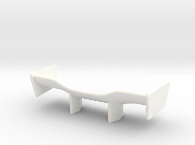 V2 Racer Wing 2.1 in White Processed Versatile Plastic