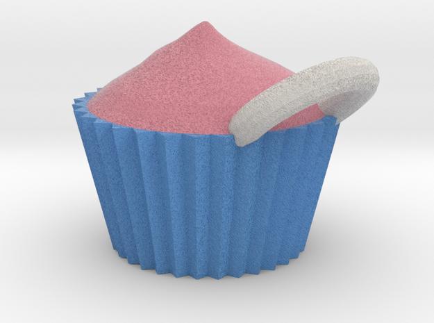 Cupcake in Full Color Sandstone