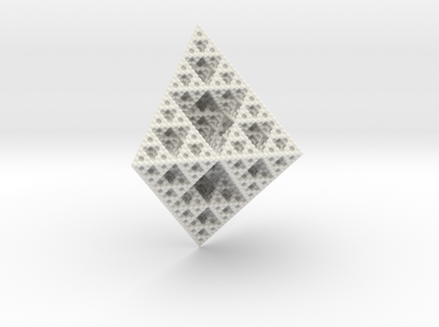 Rhombododecahedron Fractal 3d printed