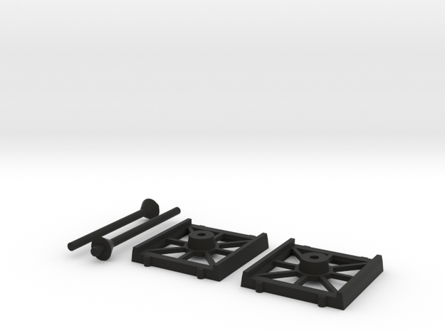 Bases Cheap 2 Fighter in Black Natural Versatile Plastic
