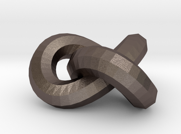 Neverending-knot-15mm. pendant / earring / necklac 3d printed