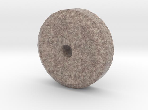 HO Scale 4' diameter Chilean Mill Roller in Full Color Sandstone