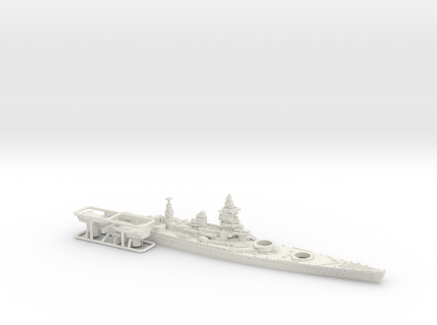 1/1800 MN BC Dunkerque [1940] in White Strong & Flexible