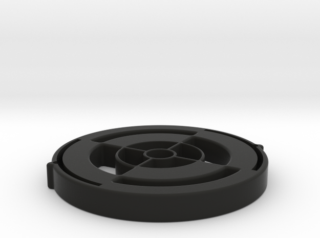 LensProtector42mm-5mmThick in Black Natural Versatile Plastic