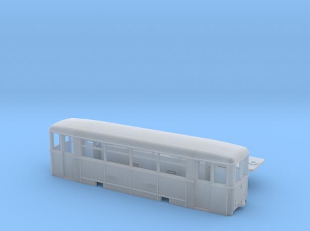 Aufbaubeiwagen (Werdauer BW) Spur TTm (1:120) 3d printed