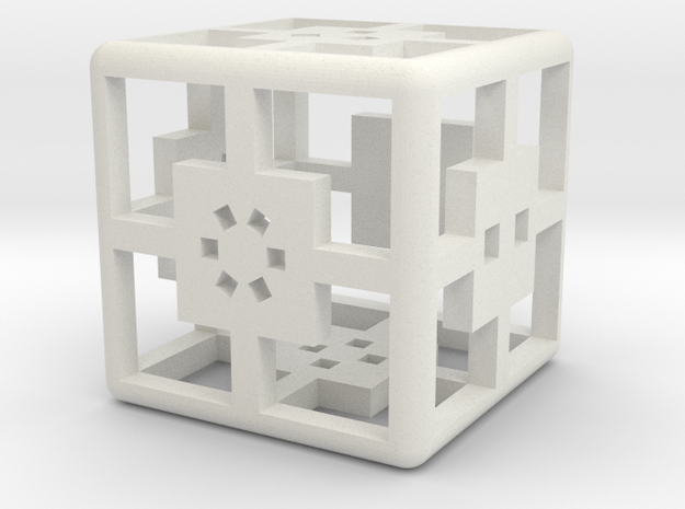6-Sided Dice - Standard (1.5cm) 3d printed
