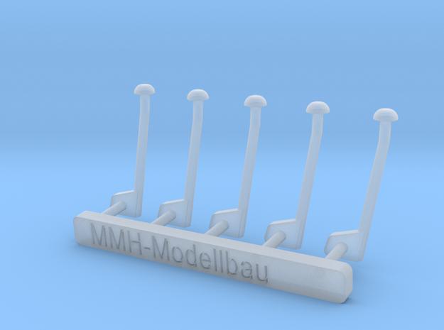 Luftstutzen 5x.stl in Smooth Fine Detail Plastic
